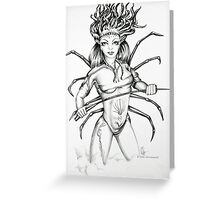 Spikette Greeting Card