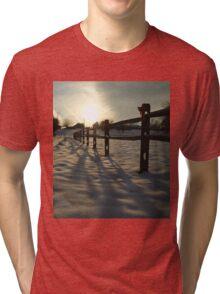 Fence Set Tri-blend T-Shirt