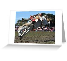 Nice Day For A Ride Greeting Card