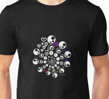 geometric heart design Unisex T-Shirt