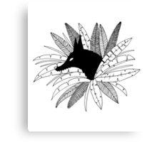 Bush Dog Canvas Print