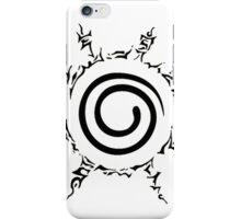 Naruto: Kyuubi's symbol 1 iPhone Case/Skin