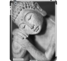 Black and white Buddha iPad Case/Skin
