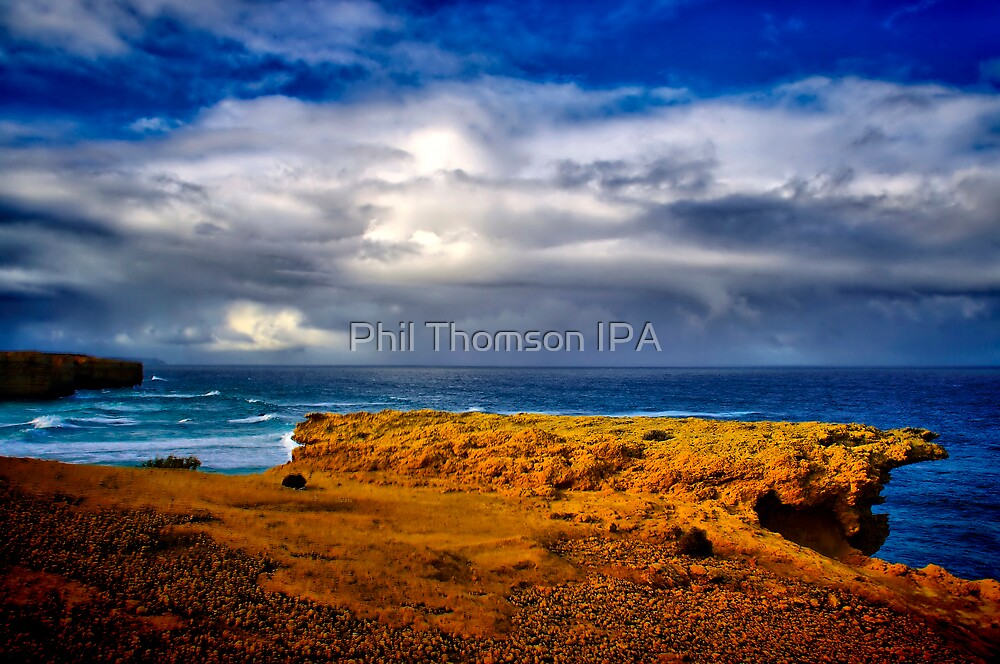 """At The Edge, In The Face Of A Storm"" by Phil Thomson IPA"