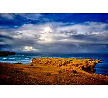 """""""At The Edge, In The Face Of A Storm"""" Photographic Print"""