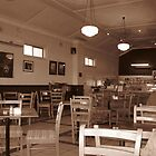 Retro Cafe by Judy Woodman