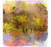 Golden Highlights Landscape Poster