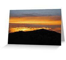 Sunset in Magaliesburg Greeting Card
