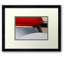 Street Rod Abstract Framed Print