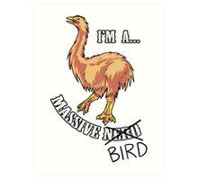 Aepyornis is a Massive Bird. Art Print