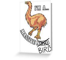 Aepyornis is a Massive Bird. Greeting Card