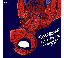 Spiderman - Peter Parker Photographic Print