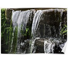 The Green Water Fall Poster