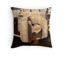 Old Train Throw Pillow