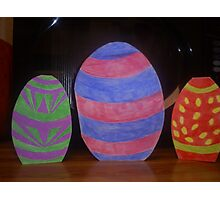 My Easter Egg Cards Photographic Print