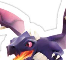 Dragon Clash of Clash Art Sticker