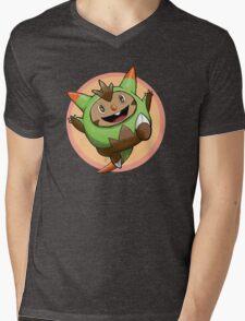Happy Quilladin! Mens V-Neck T-Shirt