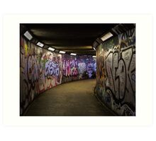 Subway Art Art Print