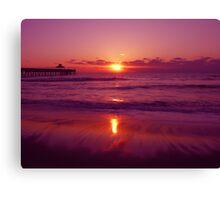 North Atlantic Ocean Sunrise Canvas Print