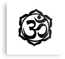 Yogi Lotus Metal Print
