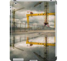 Belfast Cranes iPad Case/Skin