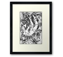 The Dive -  Apparatus Series Framed Print
