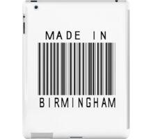 Made in Birmingham iPad Case/Skin