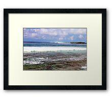 Restless Seas Framed Print