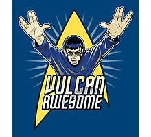 Vulcan Awesome Photographic Print
