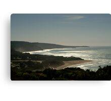 Harsh Light Anglesea,Great Ocean Rd Canvas Print