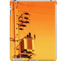 Electricity distribution equipment iPad Case/Skin