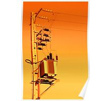 Electricity distribution equipment Poster