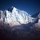 The Himalayan Snow Topped Peaks by John Dalkin