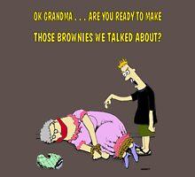 Grandmas bROWNIES Unisex T-Shirt
