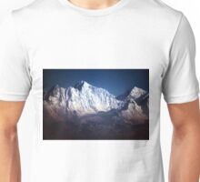The Himalayan Snow Topped Peaks Unisex T-Shirt