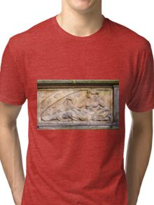 Engineering. 18th century Science bas relief  Tri-blend T-Shirt