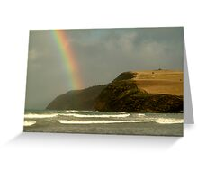 Cape Bridgrewater, Stormy Weather Greeting Card