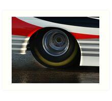 Pro Tyre Art Print