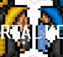 Mortal Kombat Pixelized  Sticker