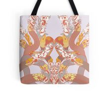 Snakes and Flowers Tote Bag