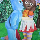 In the Night Garden Commission by Deborah Boyle