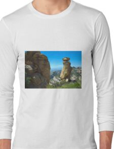 Mountains, Rocks and Sky Long Sleeve T-Shirt