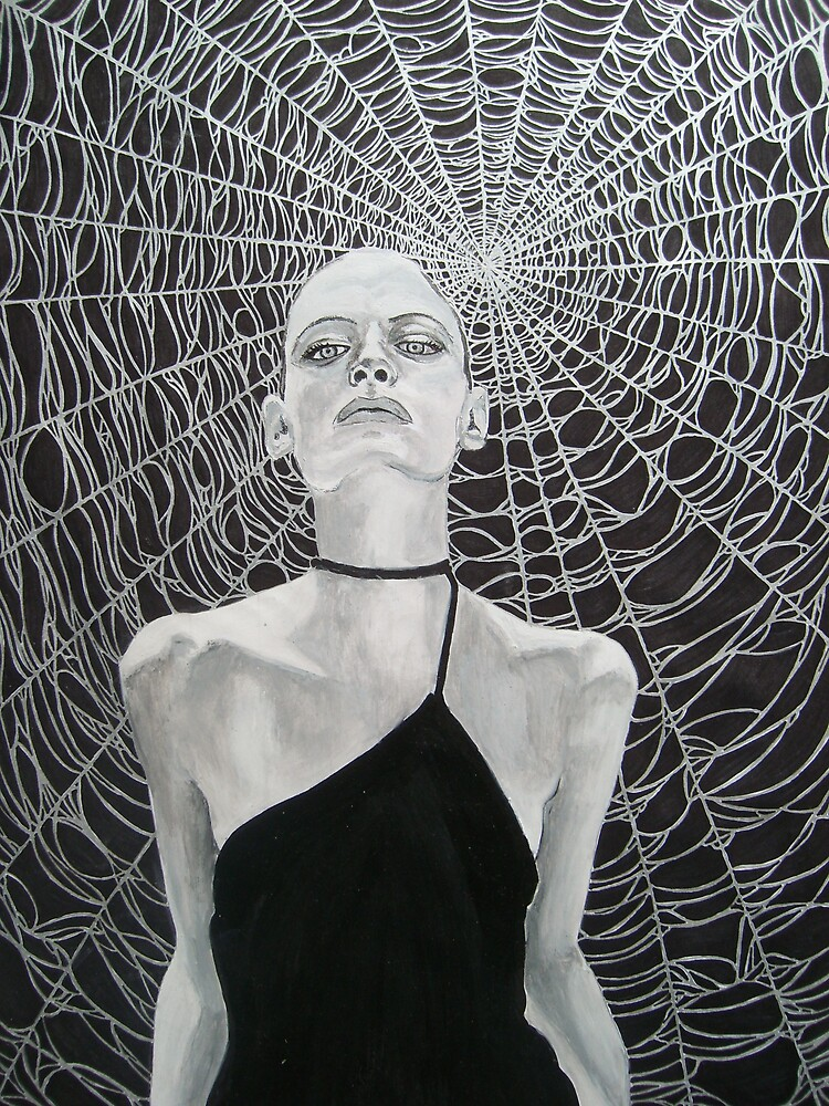 black widow by Deborah Boyle