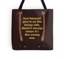 Winners and Losers Tote Bag