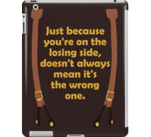 Winners and Losers iPad Case/Skin