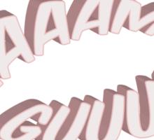 Ham Girl! Sticker