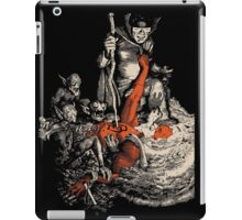 Ode to the devil iPad Case/Skin
