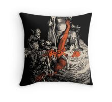 Ode to the devil Throw Pillow