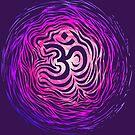 Purple om tunnel by Matthew Sergison-Main