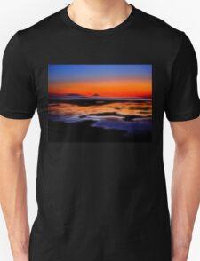 beautiful sunset seascape landscape T-Shirt